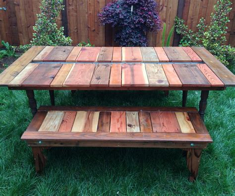 Picnic-Table-With-Trough-Plans