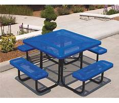 Best Picnic table and bench   assembly instructions