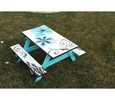 Best Picnic table paint.aspx