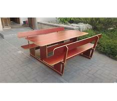 Best Picnic table pattern using plywood