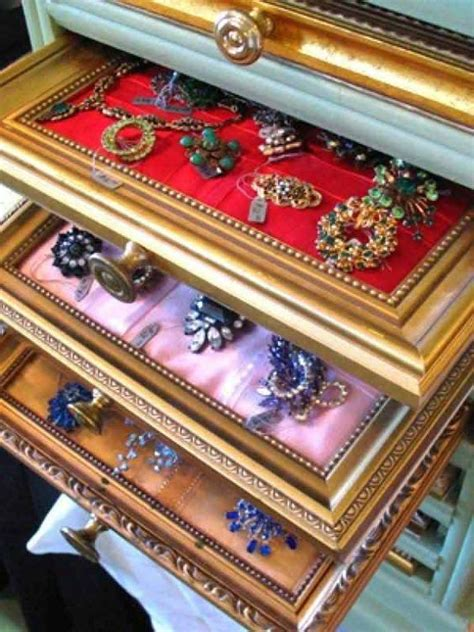 Picture Frame Jewelry Box Plans