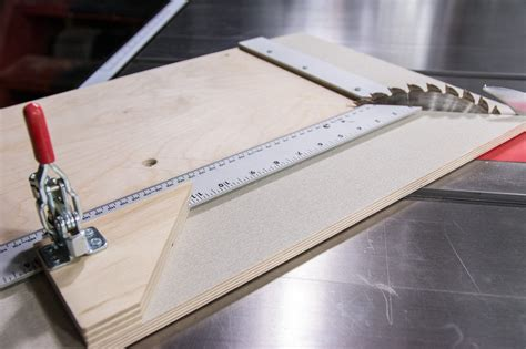 Picture Frame Jig For Table Saw