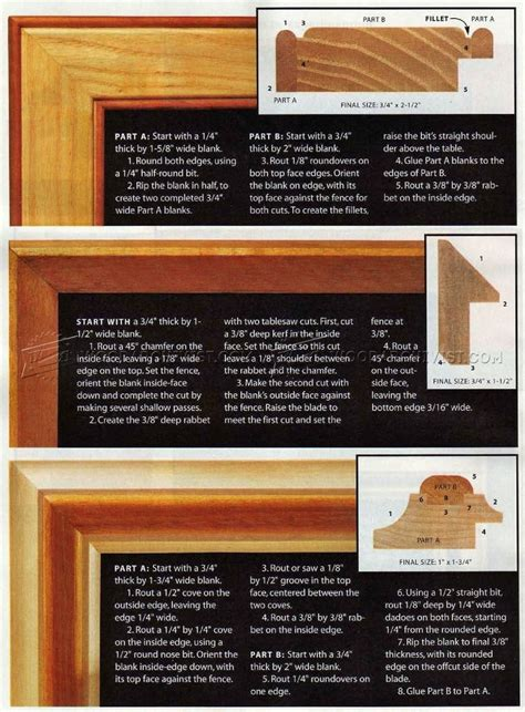 Picture Frame Router Plans