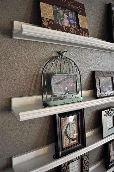 Picture Frame Shelves Diy