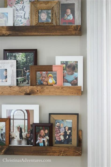 Picture Frame Shelves Diy Railroad