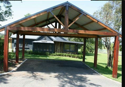 Picture To Wood Diy 20x20 Carport