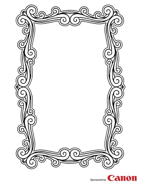 Picture-Frame-Template-Printable