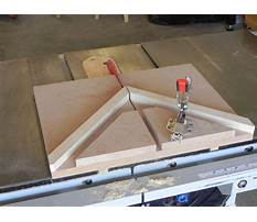 Best Picture frame jig for miter saw