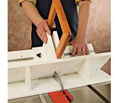 Best Picture frame jig table
