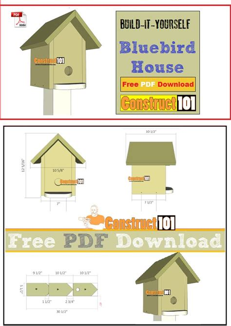 Pictures Of Birdhouse Plans Pdf