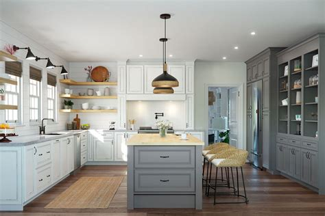 Pictures Of Mix And Match Kitchen Cabinets