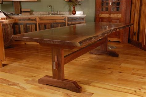 Pictures Of Trestle Dining Table Plans