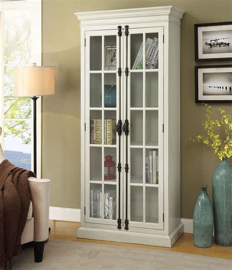 Pictures Of White Curio Cabinets