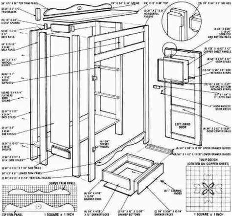 Pie-Cabinet-Plans
