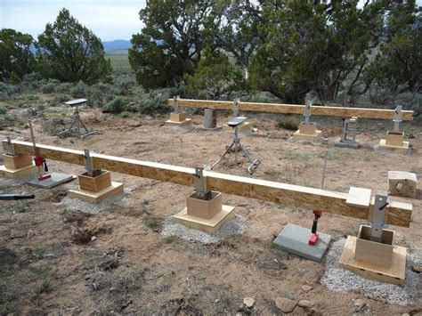 Pier Foundation Cabin Plans