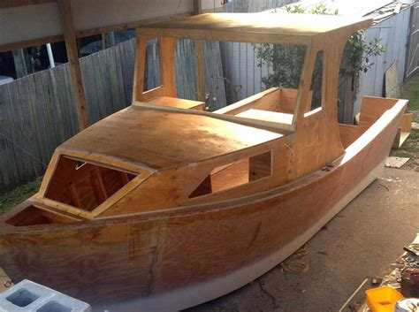 Pilar Boat Plans Homemade