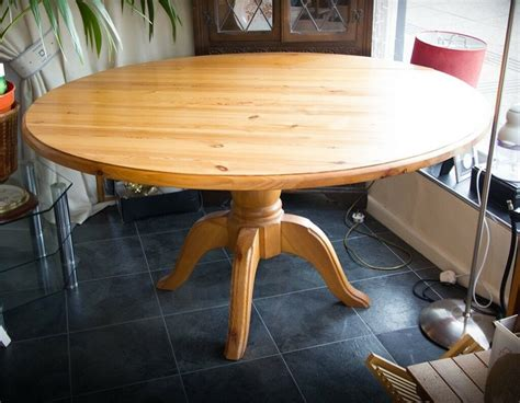 Pine Dining Table With Leaf