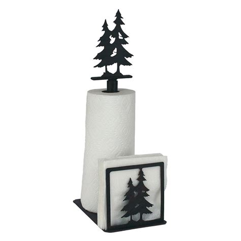 Pine Tree Paper Towel And Napkin Holder