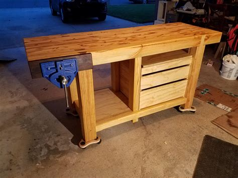 Pine Wood Bench Plans