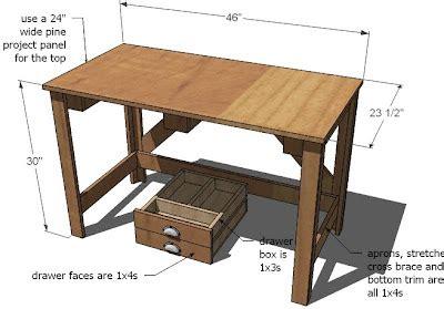 Pine-Computer-Desk-Plans