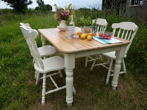 Pine-Farmhouse-Table-And-4-Chairs