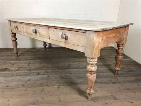 Pine-Farmhouse-Table-With-Drawers