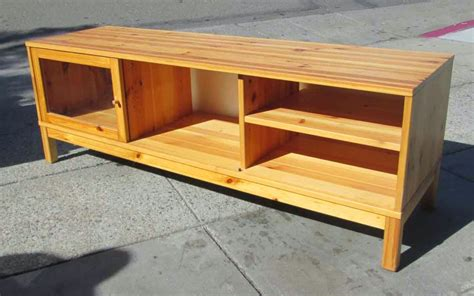 Pine-Tv-Console