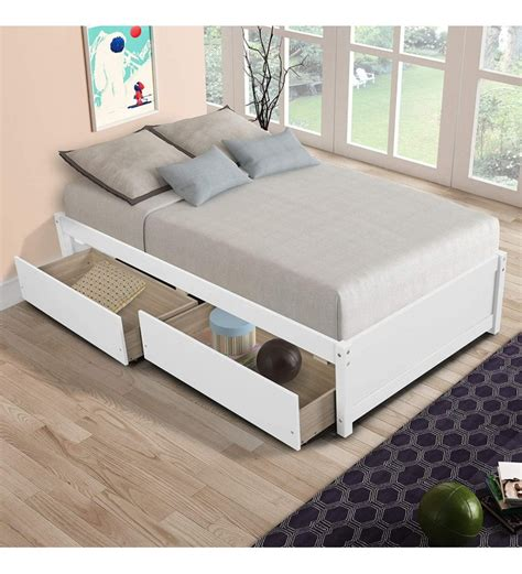 Pine-Wood-Twin-Bed-Frame