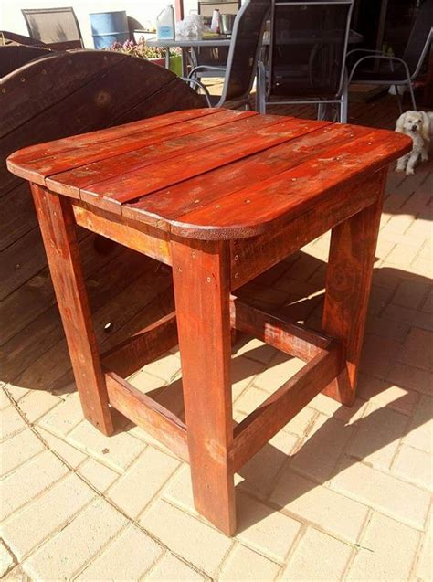 Pineapple End Table Diy Pallet
