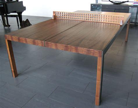 Ping Pong Dining Table Diy Finger