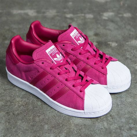 Pink Adidas Superstar Sneakers