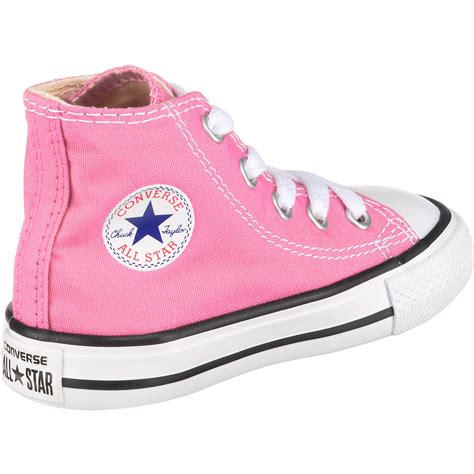 Pink Baby Converse Sneakers