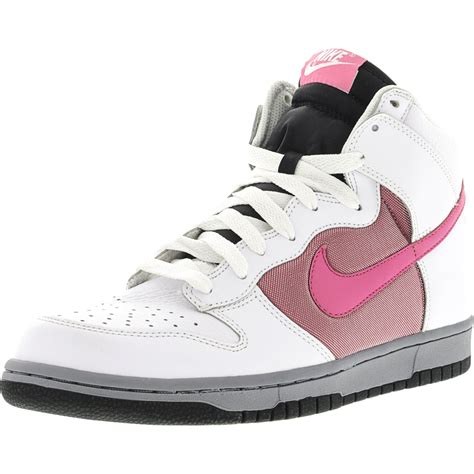 Pink High Top Sneaker Nike