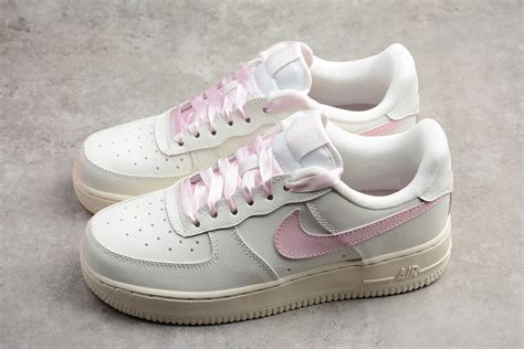 Pink Nike Air Force Sneakers