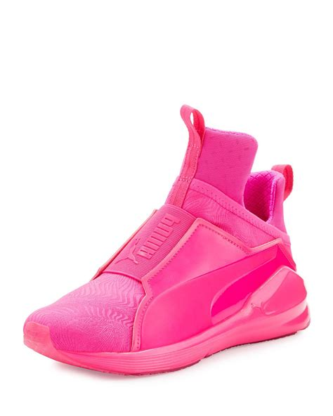 Pink Puma Fierce Sneakers
