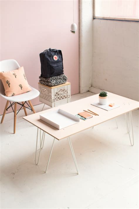 Pink-Coffee-Table-Wood-Diy