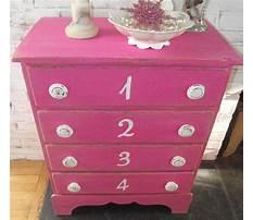 Best Pink shabby chic dresser