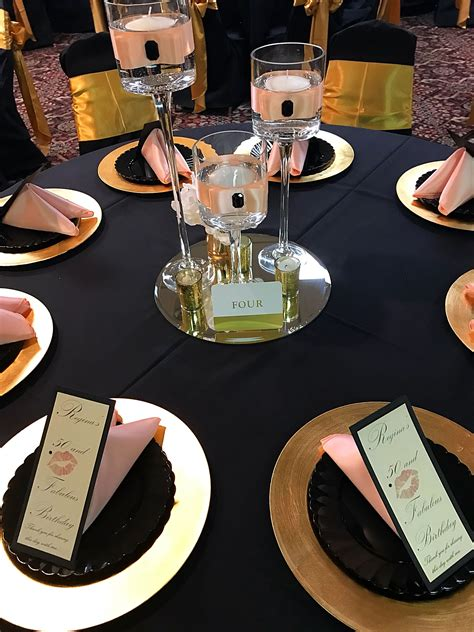 Pinterest 50th Birthday Table Decorations