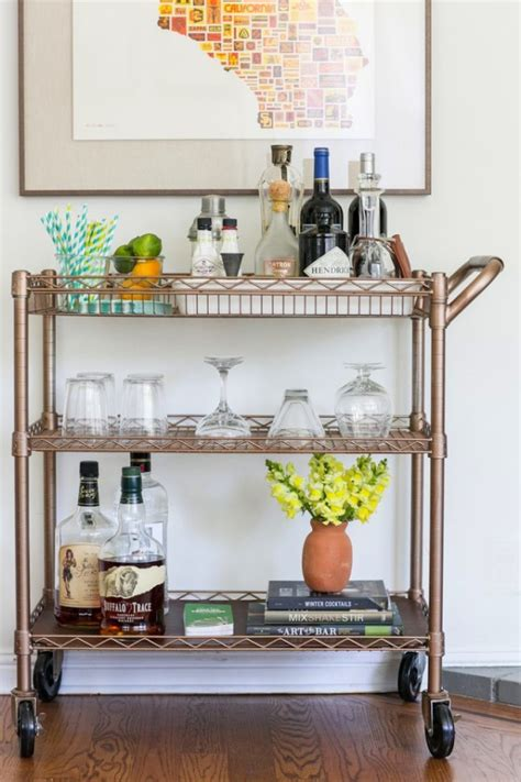 Pinterest Bar Cart Diy