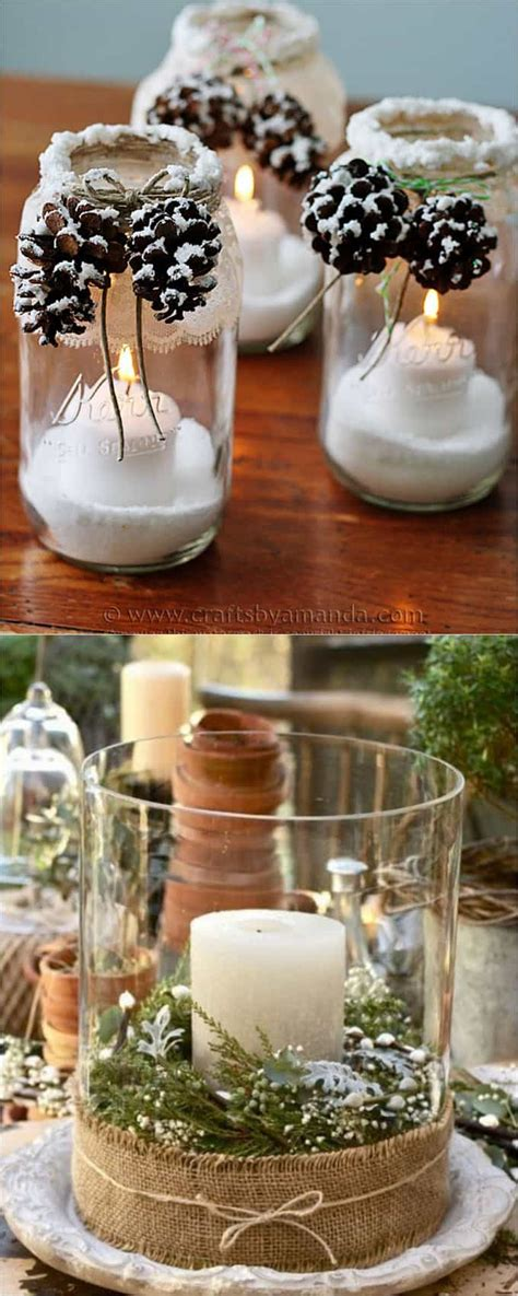 Pinterest Diy Christmas Table Decorations