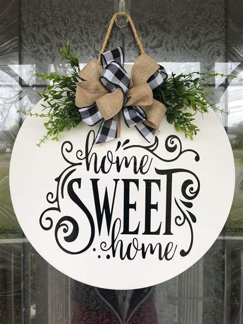 Pinterest Diy Wood Christmas Front Door Sign
