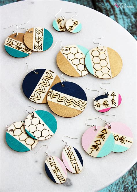 Pinterest Diy Wood Earrings