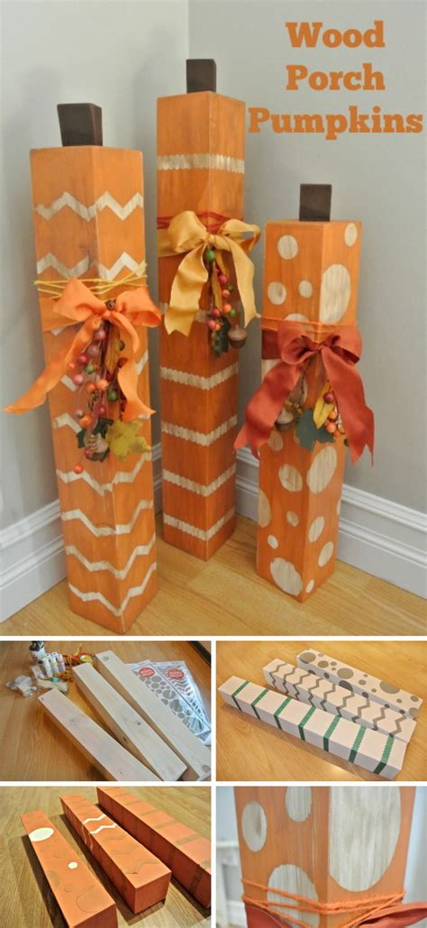 Pinterest Diy Wood Pumpkins On Pinterest