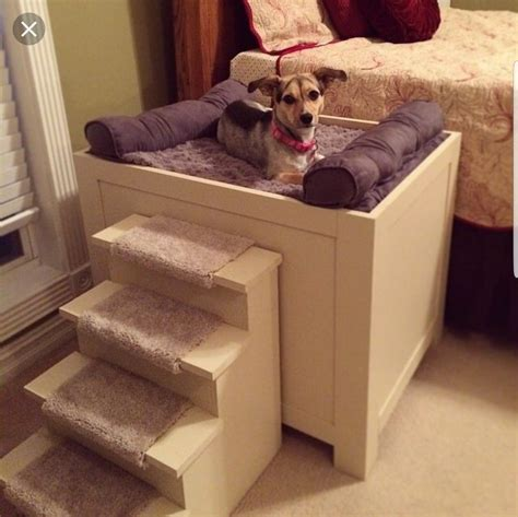 Pinterest Dog Bed Diy With Stairs