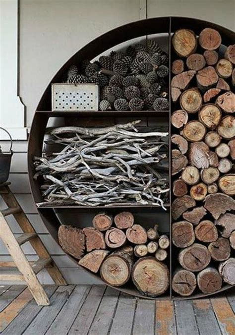 Pinterest Firewood Storage Ideas