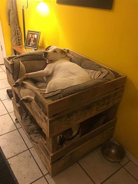 Pinterest Large Dog Bed Diy Loft