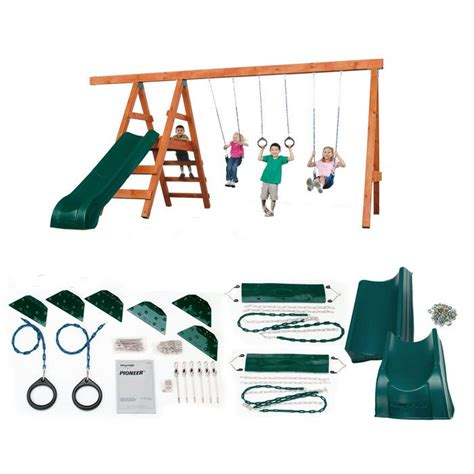 Pioneer-Deluxe-Diy-Playset-Hardware-Kit-With-Slide