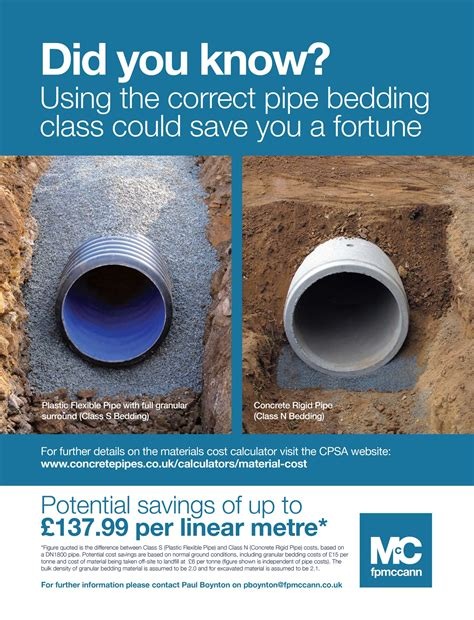 Pipe Bedding