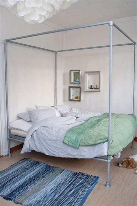 Pipe Canopy Bed Diys