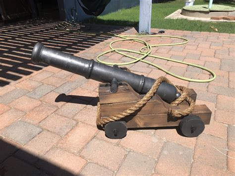 Pirate Cannon DIY